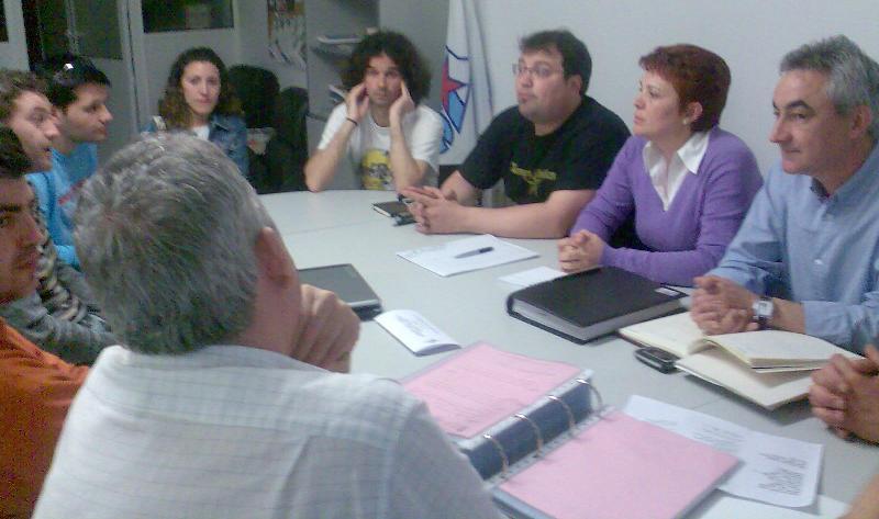 Reunión coa AAVV Abesadas