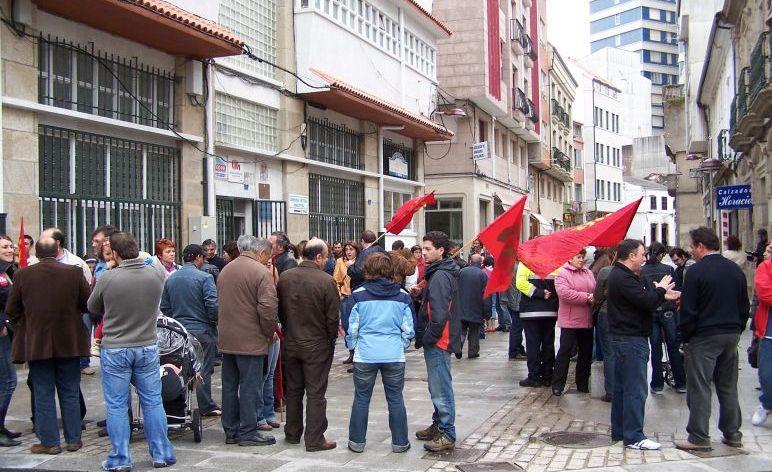 Manifa do 1 de maio en Ribeira