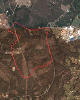 Localización Polígono da Barbanza