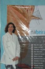 Anxela Bugallo na presentación de NaBeira08