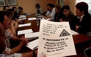 Reunión de Voceir@s Municipais coa Comisión Veciñal de Aguiño
