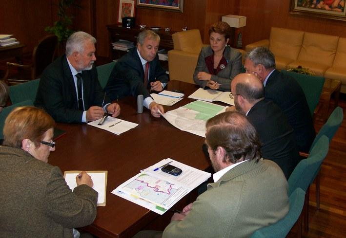 2007-10-25 2ª entrevista co Conselleiro Medio Ambiente