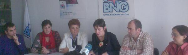Rolda de prensa con Ana Pontón