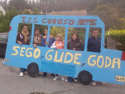 A propiedade do autobús foi cedida á Conselleira de Educación