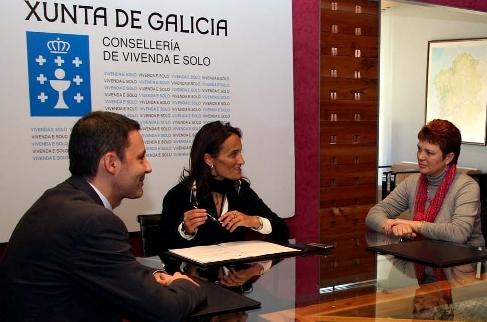 Tereixa Táboas, Xoan Carlos Báscuas e Dominga Brión