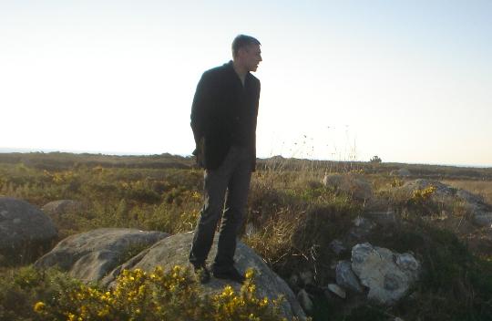 Bieito Lobeira no Corgo (Corrubedo) BNG