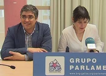 Carlos Aymerich e Ana Pontón