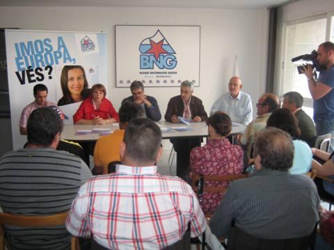 Encontro do BNG co sector pesqueiro de Ribeira