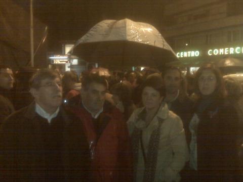 Manifestación Alakrana, Vigo