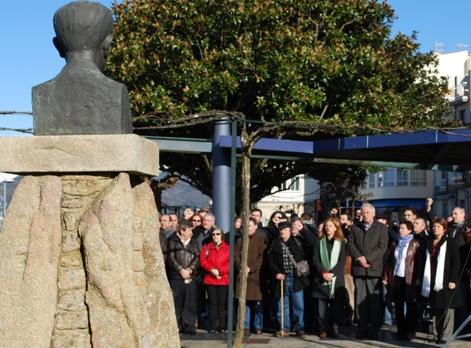 Homenaxe a Castelao no 60 cabodano