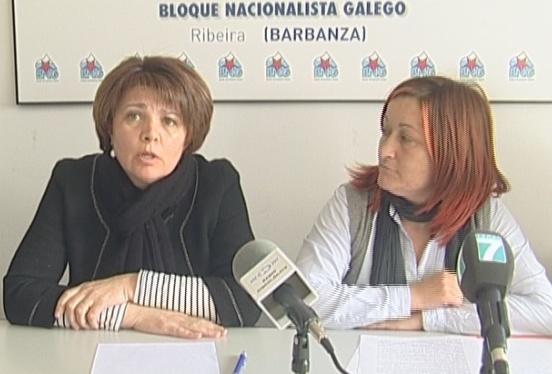 Dominga Brión e Anxeles Cruxeiras demandando o inventario de camiños