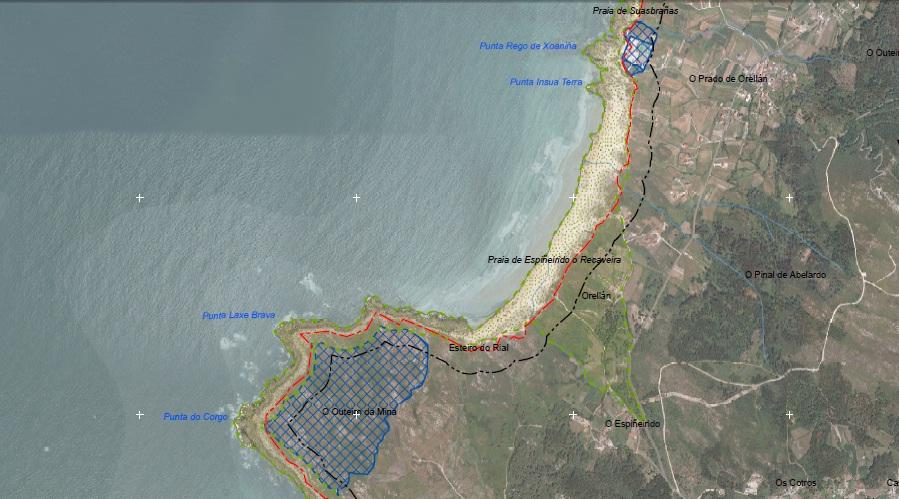 Parques acuícolas do Corgo e Seráns