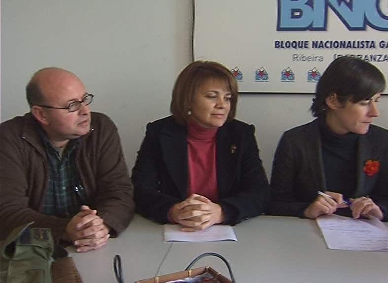 O BNG da Barbanza presentando as emendas ao orzamentos da Xunta 2011