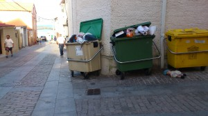 Mellora recollida lixo Corrubedo BNG Ribeira