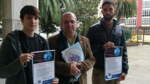 Luís Pérez Barral, Xosé Antonio Vázquez Cobas, Alexandre Ríos Batista. BNG Ribeira
