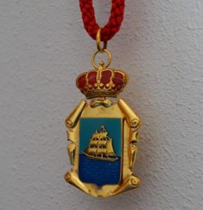 Medalla Concello de Ribeira. BNG Ribeira