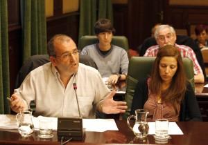 Concelleiros BNG Ribeira C. Queijeiro LVG. Xose Antonio Vazquez Cobas, Luis Pérez Barral, Dores Vidal Peon, Xose Anton Parada Fernandez