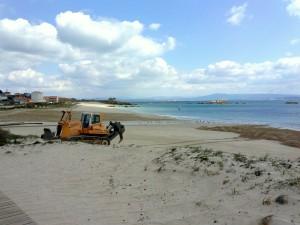 Praia do Castro. Castiñeiras. Ribeira