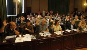 Pleno Municipal Ribeira. BNG. Foto LaVozDeGalicia