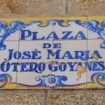 Praza J. M. Otero Goyanes. BNG. Ribeira
