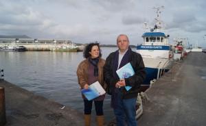 Pilar Sampedro e Xosé Vázquez Cobas