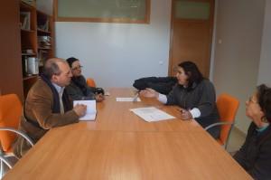 Xuntanza do BNG co departamento de Servizos Sociais de Ribeira.
