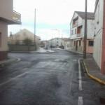 O BNG solicita un sinal de stop no cruce da rúa Castelao coa rúa Listres de Aguiño. BNG Ribeira