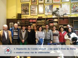 Xuntanza Festa da Dorna, Deputación da Coruña e BNG Ribeira