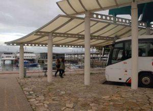 Estación de Cangas, modelo que o BNG propón imitar. Foto: Faro de Vigo