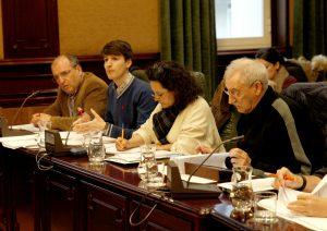 Grupo Municipal do BNG. Fonte: Marcos Creo. La Voz de Galicia