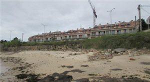 O BNG defende que Ribeira teña vivendas para atender casos de emerxencia social. Casas baleiras en Palmeira