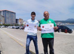 Os concelleiros Luís Pérez e Xosé Vázquez Cobas solicitan que se poña a placa da Praza da Dorna