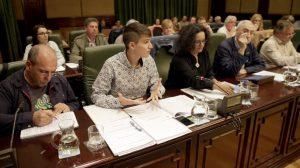 Grupo Municipal do BNG Ribeira. Imaxe: Marcos Creo La Voz de Galicia